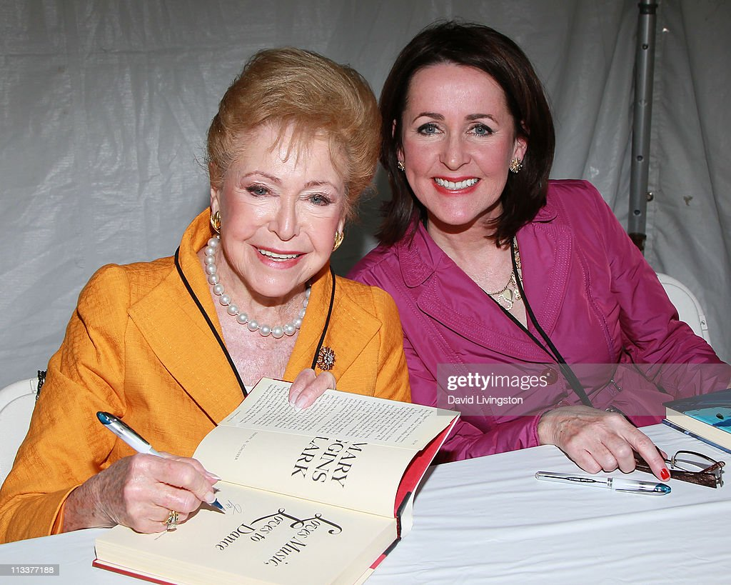 Authors Mary Higgins Clark (L) and Carol Higgins Clark attend the 16th Annual Los Angeles Times Festival of Books - Day 2 at USC on May 1, 2011 in Los Angeles, California.