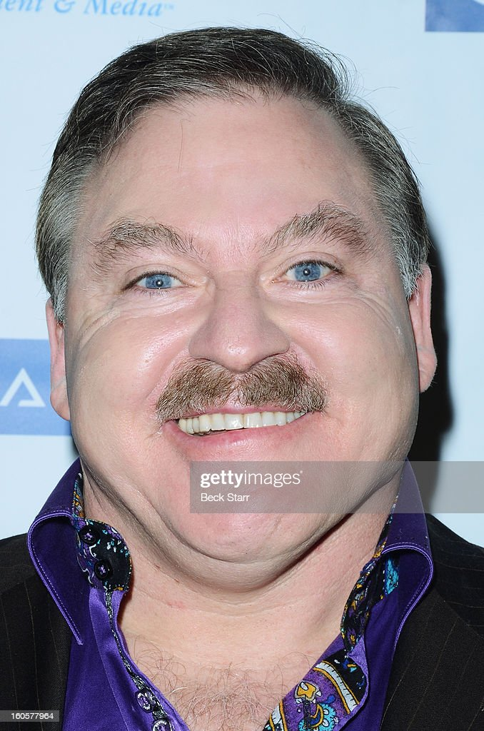 Author/spiritualist <a gi-track='captionPersonalityLinkClicked' href=/galleries/search?phrase=James+Van+Praagh&family=editorial&specificpeople=2308022 ng-click='$event.stopPropagation()'>James Van Praagh</a> arrives at 'GATE', Global Alliance For Transformational Entertainment's 3rd annual green carpet event at Saban Theatre on February 2, 2013 in Beverly Hills, California.