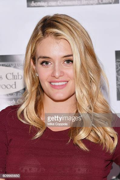 Author/Television personality Daphne Oz signs copies of her new book 'The Happy Cook' at Women's Club Of Ridgewood on September 23 2016 in Ridgewood...