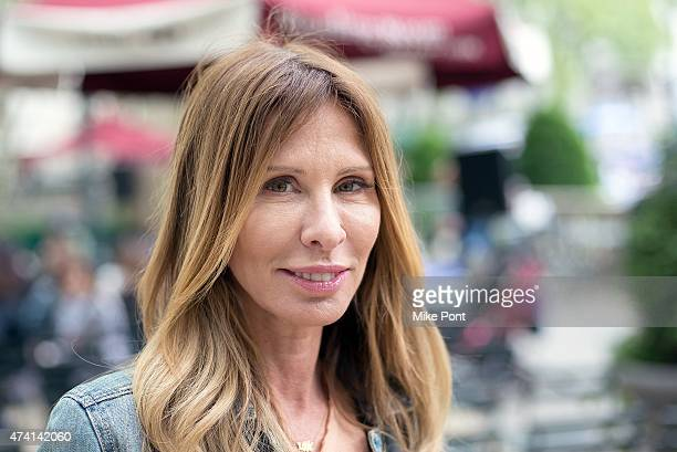 Author/TV Personality Carole Radziwill attends Bethenny Frankel In Conversation With Carole Radziwill at The Bryant Park Reading Room on May 20 2015...