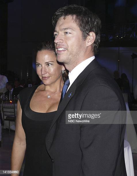 2nd Annual Celebrity Chef Gala Pictured Singer Harry Connick Jr and wife Jill Goodacre during the 'Autism Speaks' spectacular evening at Cipriano...
