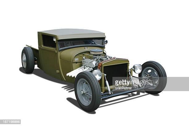 Auto Car - 1929 Ford  Rat Hot Rod