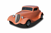 Auto voiture Ford Hot Rod 1934