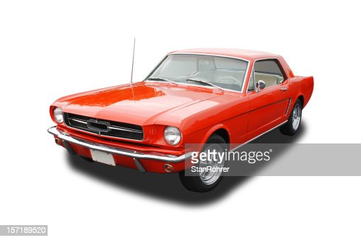 Auto Car - 1965 Ford Mustang
