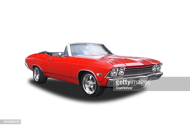 Auto Car - 1968 Chevrolet 396 Convertable