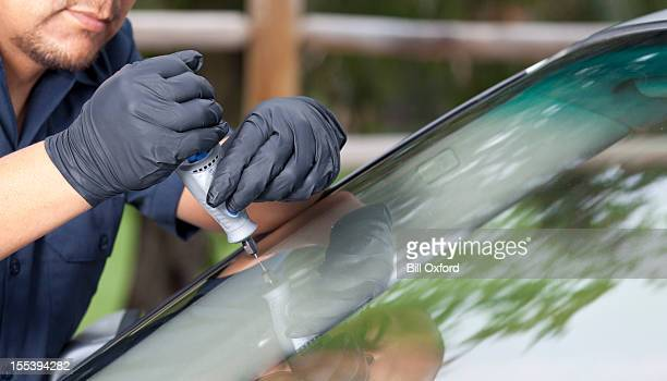 Automatische Glas Reparatur & Erneuerung