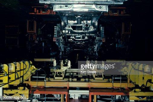 Auto manufacturing robotics : Foto stock