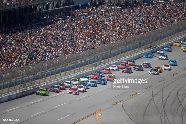 GEICO 500 Aerial view of pace car during race at Talladega Superspeedway Monster Energy NASCAR Cup Series Lincoln AL CREDIT Kevin Liles