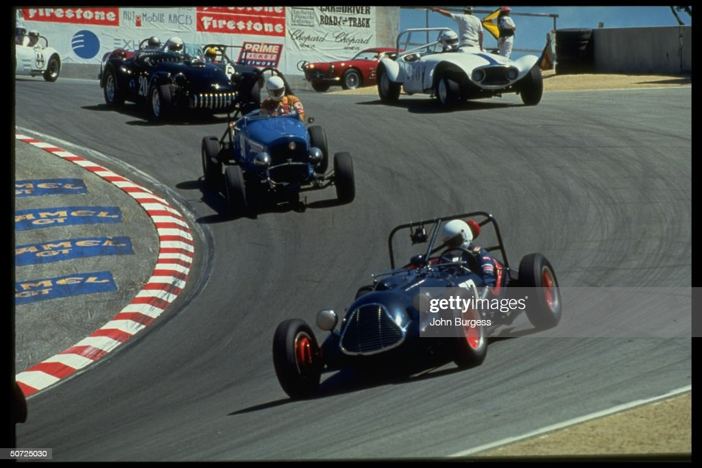 Auto Racing The Historic Car Pack In A Pictures Getty Images