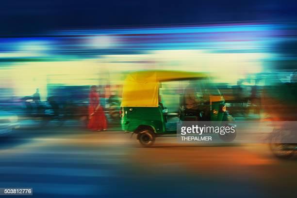 Auto-Rikscha Taxi Indien