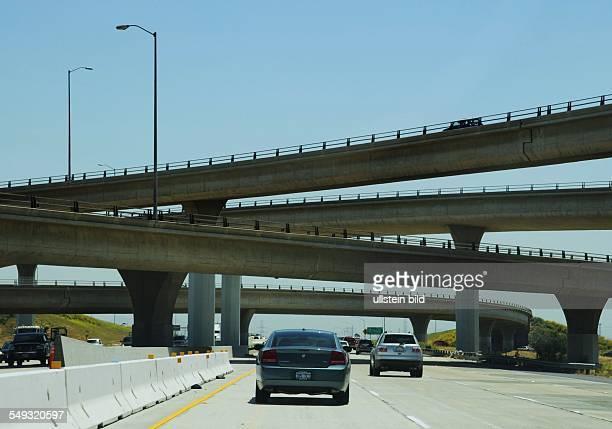 Autobahnbrücken im Großraum Los Angeles Kalifornien