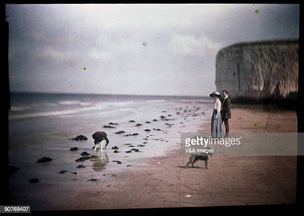 Autochrome 120 x 165mm Photograph by John Cimon Warburg Warburg was able to devote his time wholeheartedly to photography because bad asthma stopped...