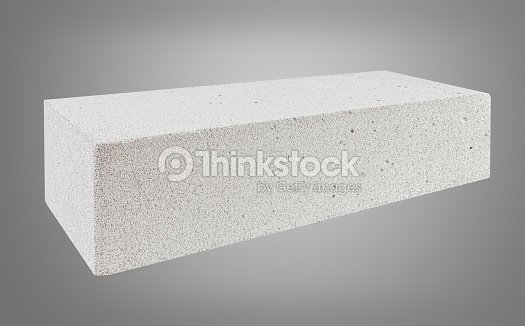 Autoclaved Aerated Concrete Block Stock Photo | Thinkstock