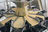 Automated food factory make fresh pasta