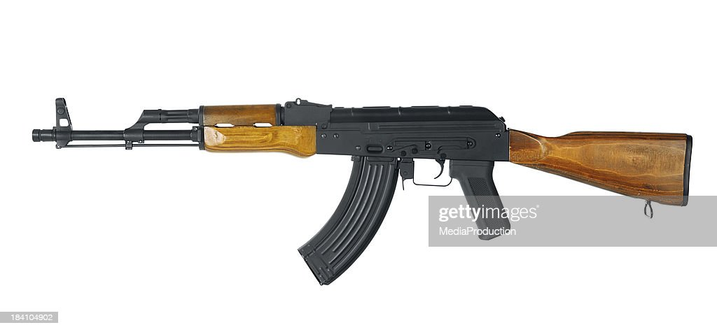 Automatic gun with clipping path
