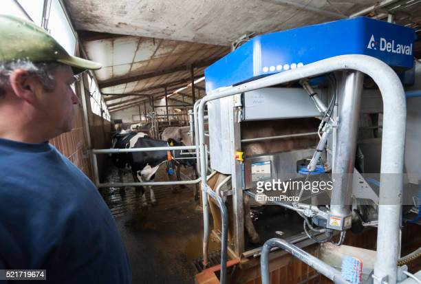 Automatic milking robot / mechanical milker
