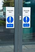 Automatic office door