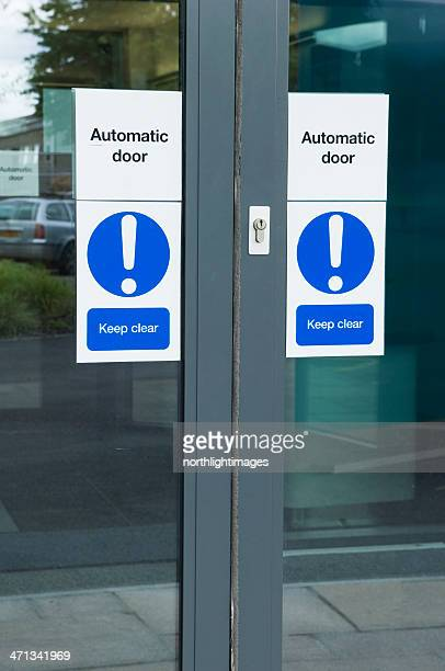 Automatic office door