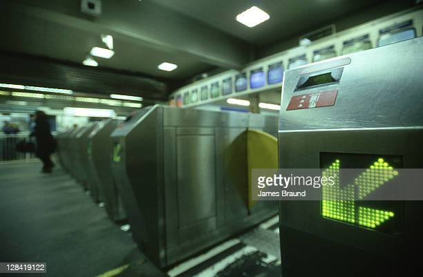 automatic ticket barriers