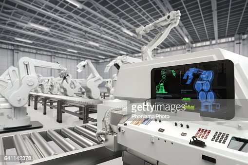 automation industry concept : Foto stock
