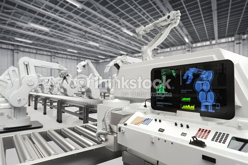 automation industry concept : Stock Photo