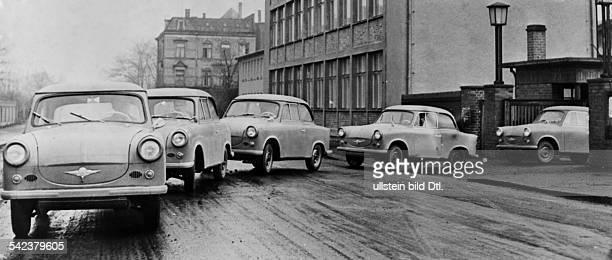 Automobile DDR Die erste Serie des PKW 'Trabant'