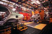 Automobile manufacturing plant