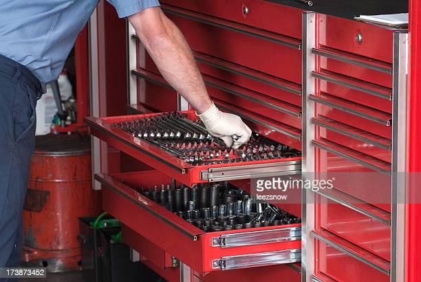 Mécanicien Automobile Boîte à outils