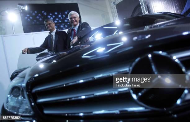 Automobiles Cars Suhas Kadlaskar Director Corporate Affairs and Finance for DaimlerChrysler India and Wilfred Aulbur MD and CEO DaimlerChrysler India...