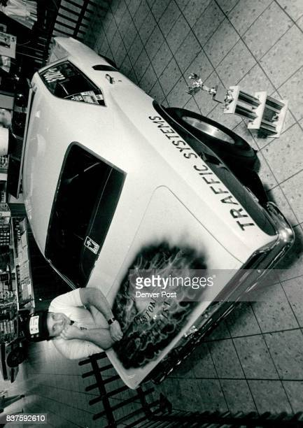 Automobiles Racing Larry Bennington Arvada Police Race car Sgt Larry Bennington with the car at Westminister Mall Credit The Denver Post