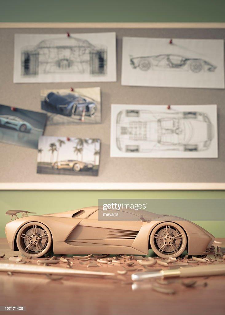 Automotive Design : Stock Photo