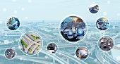 Automotive tehnology concept.