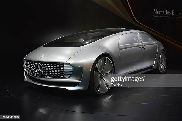 Autonomous car Mercedes-Benz F 015 on the motor show