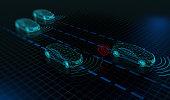 Autonomous driverless cars