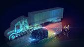 Autonomous self drive vehicle
