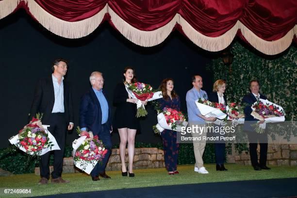 Autor of the piece Gerald Sibleyras Stage director of the piece Bernard Murat Actors of the piece Alice Dessuant Alysson Paradis Lionel Abelanski...