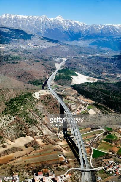 Autostrada dei Parchi, Abruzzo