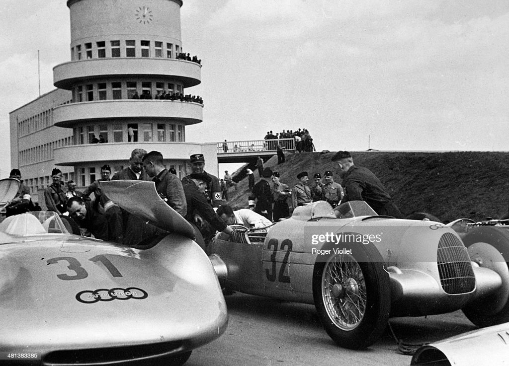 Auto Union Cars Avus Motor Racing Pictures Getty Images