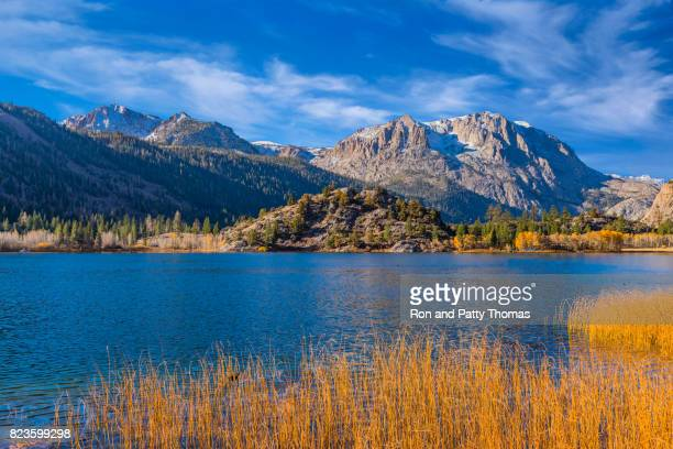Autumn at Gull Lake along the June Lake Loop. CA