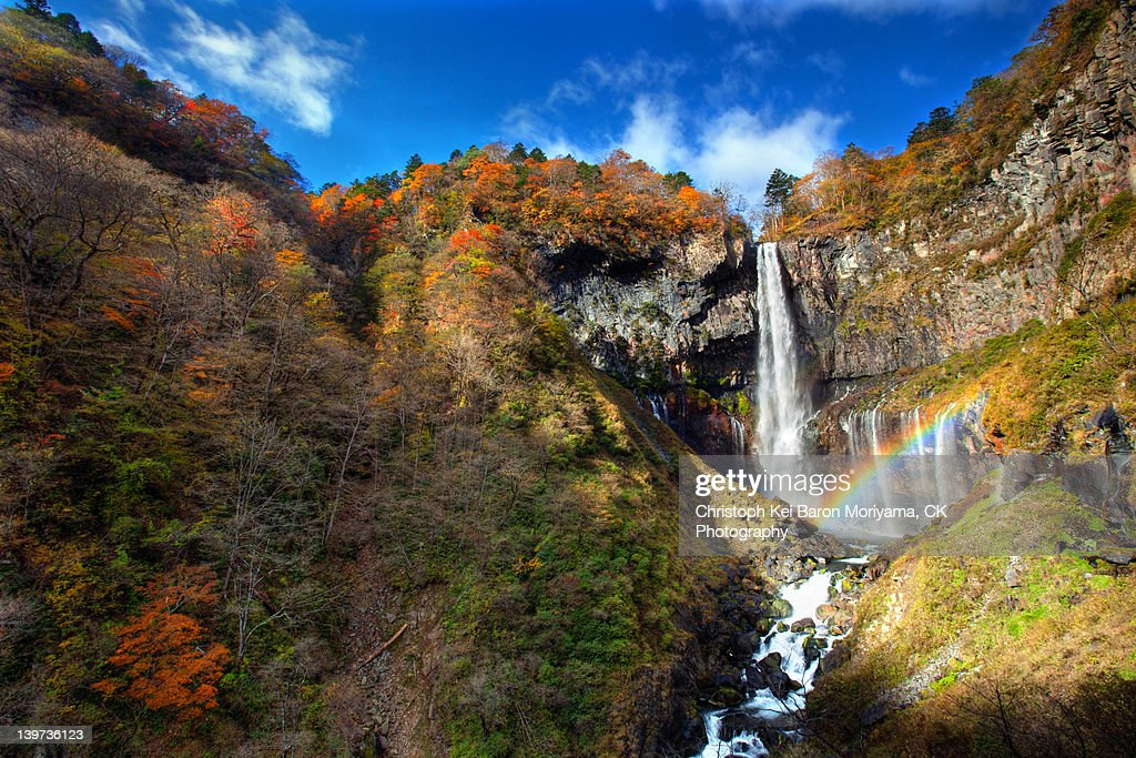 Autumn at Kegon falls