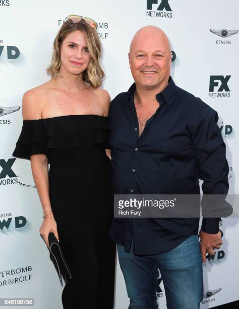Autumn Chiklis and Michael Chiklis attend FX and Vanity Fair Emmy Celebration at Craft on September 16 2017 in Century City California