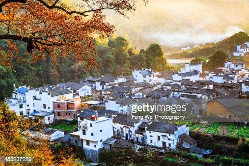 Autumn Colors, Changxi Village, Wuyuan, Jiangxi