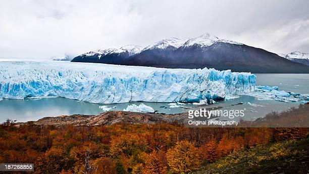 Autumn colors in Patagonia, Perito Moreno