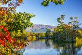 Onuma Quasi-national Park is the representative resort of Hokkaido.