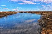 Anyuy national park. Khabarovsk region, Nanaysky District. Far East, Russia.