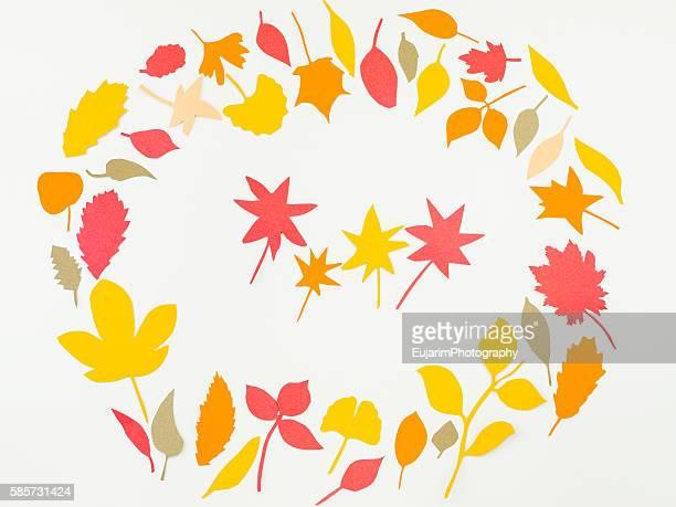 Autumn foliage concept