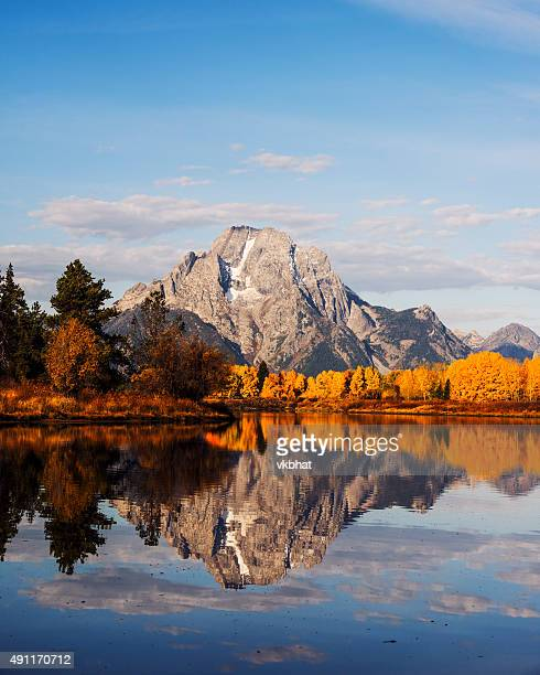 Autumn Glory at Oxbow Bend in GTNP