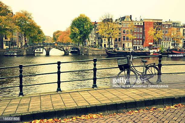Autumn in Amsterdam, Netherlands