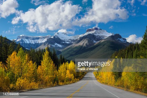 Autumn in  Canadian rockies : Stock Photo