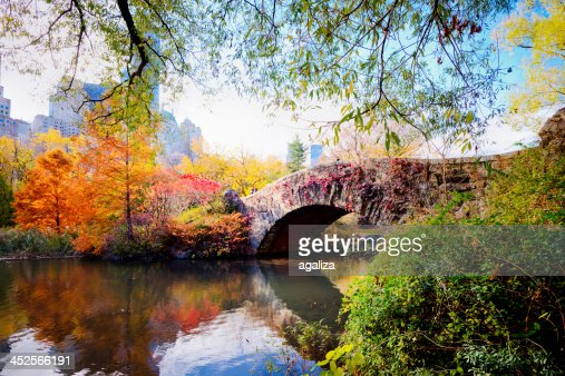 Autumn in Central Park, New York : Stock Photo